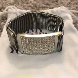 Jimmy Crystal New York Swarovski crystals bracelet